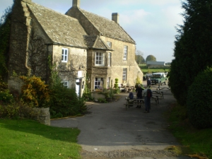The Five Mile House Pub in the Cotswolds