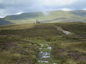 Cheltenham Rambling Club on Tor Y Foel Black Mountains