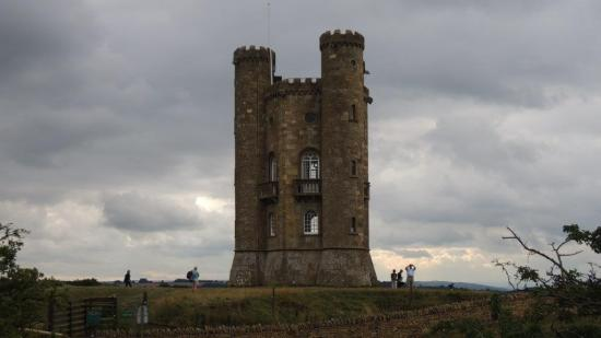 Broadway Tower - one of the impressive monuments you can see on The Wyche Way